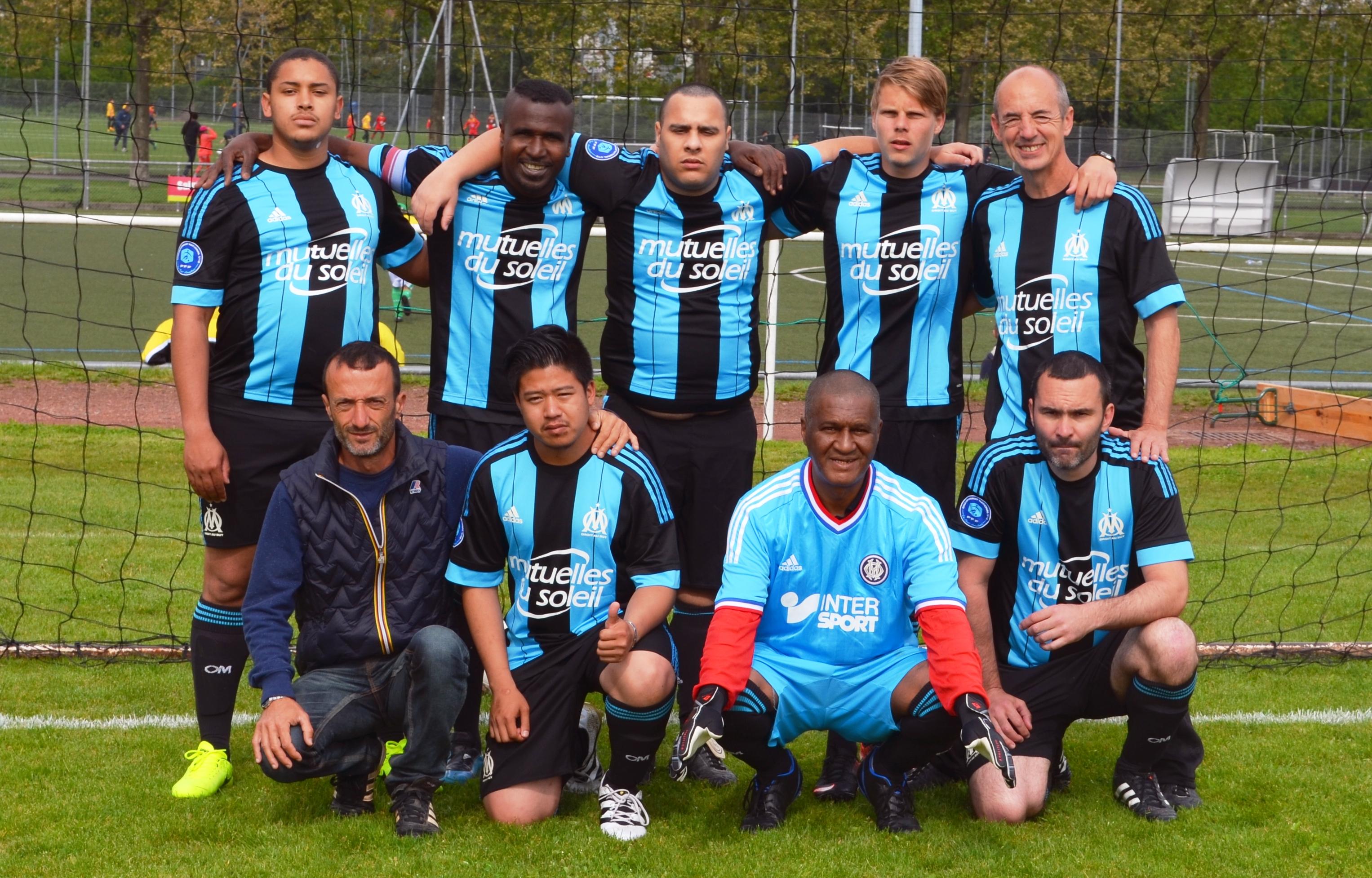 Tournoi national de football de supporters handicapes